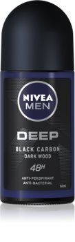 Nivea Men Deep antiperspirant roll-on 48 de ore