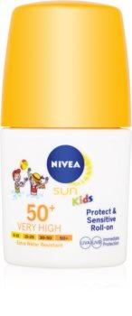 Nivea Sun Kids detské mlieko na opaľovanie roll-on