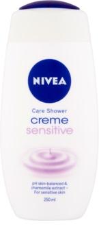 Nivea Creme Sensitive gel de duche cremoso para pele sensível