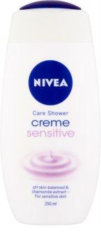 Nivea Creme Sensitive kremasti gel za prhanje za občutljivo kožo