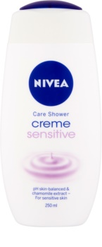 Nivea Creme Sensitive kremowy żel pod prysznic do skóry wrażliwej
