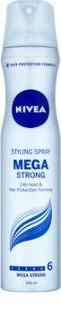 Nivea Mega Strong Hairspray With Extra Strong Fixation