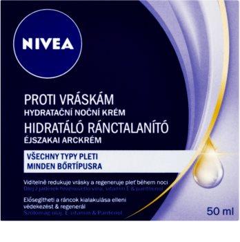 Nivea Visage crema de noche hidratante antiarrugas