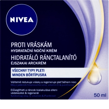 Nivea Visage creme noturno hidratante antirrugas