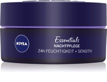 Nivea Essentials upokojúci nočný krém pre citlivú pleť