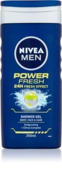 Nivea Power Refresh гель для душу