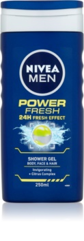 Nivea Power Refresh гель для душу