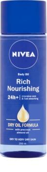 Nivea Rich Nourishing óleo corporal nutritivo