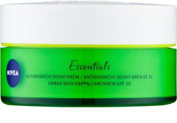 Nivea Urban Skin antioxidační denní krém s kyselinou hyaluronovou