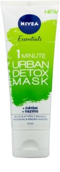 Nivea Urban Skin mascarilla limpiadora desintoxicante
