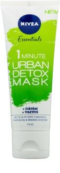 Nivea Urban Skin razstrupljevalna in čistilna maska