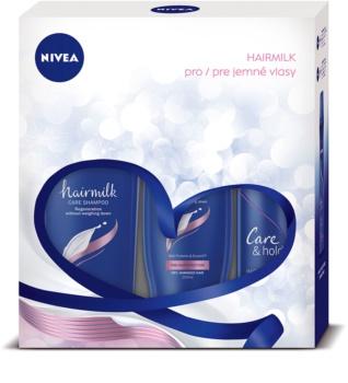 Nivea Hairmilk καλλυντικό σετ I.