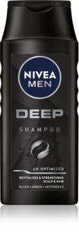 Nivea Men Deep шампунь для чоловіків