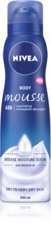Nivea Deep Moisture Body Mousse with Nourishing Effect