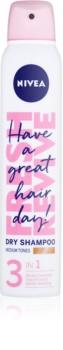 Nivea Fresh Revive frissítő száraz sampon dús hatásért