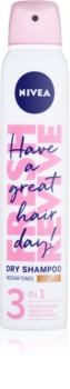 Nivea Fresh Revive shampooing sec rafraîchissant pour donner du volume