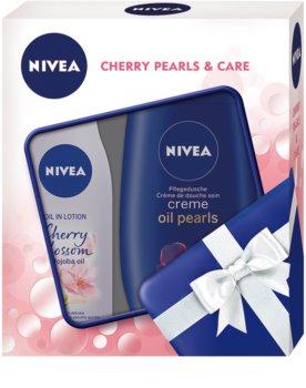 Nivea Cherry Blossom & Jojoba Oil косметичний набір I.