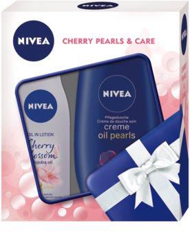 Nivea Cherry Blossom & Jojoba Oil kosmetická sada I.