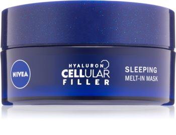 Nivea Hyaluron Cellular Filler нічна маска для обличчя з гіалуроновою  кислотою