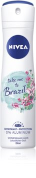 Nivea Take me to Brazil Deodorant With 48 Hours Efficacy