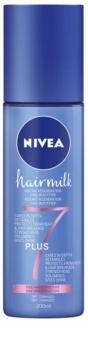 Nivea Hairmilk 7 Plus regeneracijski balzam brez spiranja za tanke lase
