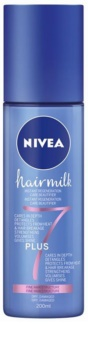 Nivea Hairmilk 7 Plus regeneračný bezoplachový kondicionér pre jemné vlasy
