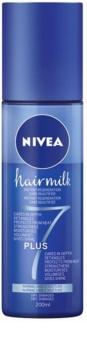 Nivea Hairmilk 7 Plus regenerační bezoplachový kondicionér pro normální vlasy