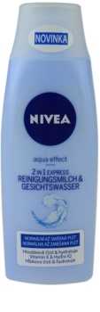 Nivea Aqua Effect Cleansing Lotion and Water 2 in 1