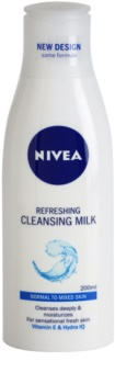 Nivea Aqua Effect odświeżające mleczko oczyszczające do cery normalnej i mieszanej