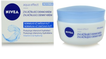 Nivea Aqua Effect zvláčňující denní krém pro normální až smíšenou pleť