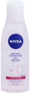 Nivea Aqua Effect pomirjajoča čistilna voda za obraz za občutljivo in suho kožo