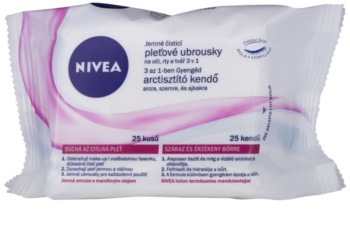 Nivea Aqua Effect Soothing Facial Cleansing Wipes for Sensitive and Dry Skin