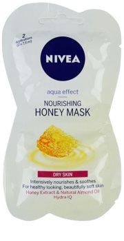 Nivea Aqua Effect nährende Honig-Maske