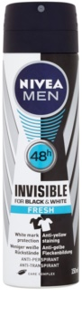 Nivea Men Invisible Black & White antitranspirante em spray