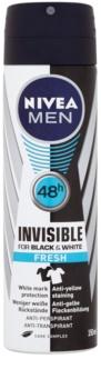 Nivea Men Invisible Black & White spray anti-perspirant