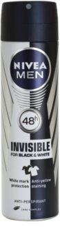Nivea Men Invisible Black & White antiperspirant v pršilu za moške