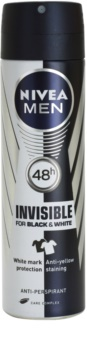 Nivea Men Invisible Black & White Antitranspirant Spray voor Mannen