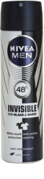 Nivea Men Invisible Black & White spray anti-perspirant pentru barbati