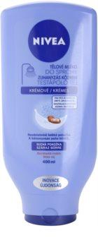 Nivea Body Shower Milk leche corporal para la ducha para pieles secas