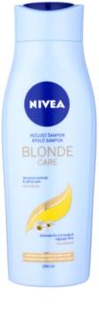 Nivea Brilliant Blonde шампоан  за руса коса