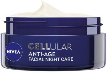 Nivea Cellular Anti-Age crema de noche rejuvenecedora  40+