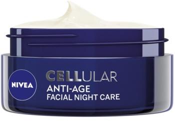 Nivea Cellular Anti-Age nočný omladzujúci krém 40+