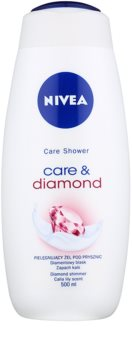 Nivea Care & Diamond Caring Shower Gel