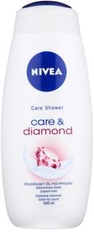 Nivea Care & Diamond upokojujúci sprchový gél