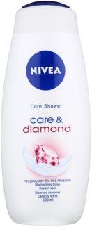 Nivea Care & Diamond заспокійливий гель для душу
