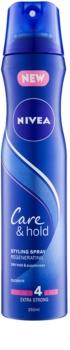 Nivea Care & Hold lacca rigenerante per capelli ultra fissante