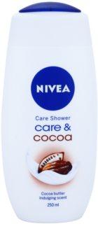 Nivea Care & Cocoa gel cremos pentru dus
