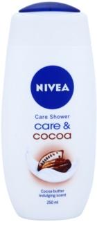 Nivea Care & Cocoa krémový sprchový gel