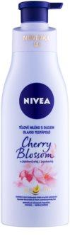 Nivea Cherry Blossom & Jojoba Oil leche corporal con aceite