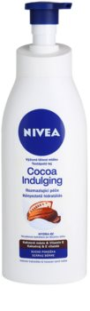 Nivea Cocoa Indulging nährende Körpermilch für trockene Haut